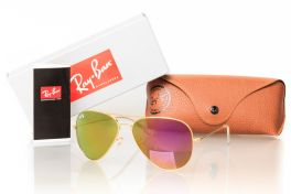 Солнцезащитные очки, Ray Ban Original 3026D-fiolet