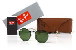 Солнцезащитные очки, Ray Ban Round Metal 3447-green-b